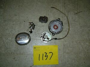 1972 HONDA SL125 POINTS PLATE, ADVANCER AND COVER