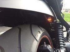 2x Universal Motorcycle Bike Amber LED Turn Signal Indicators Blinker Light New
