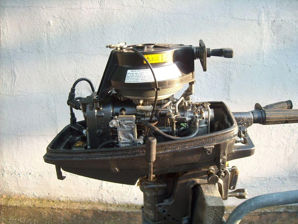Suzuki påhængsmotor, 6 hk, benzin