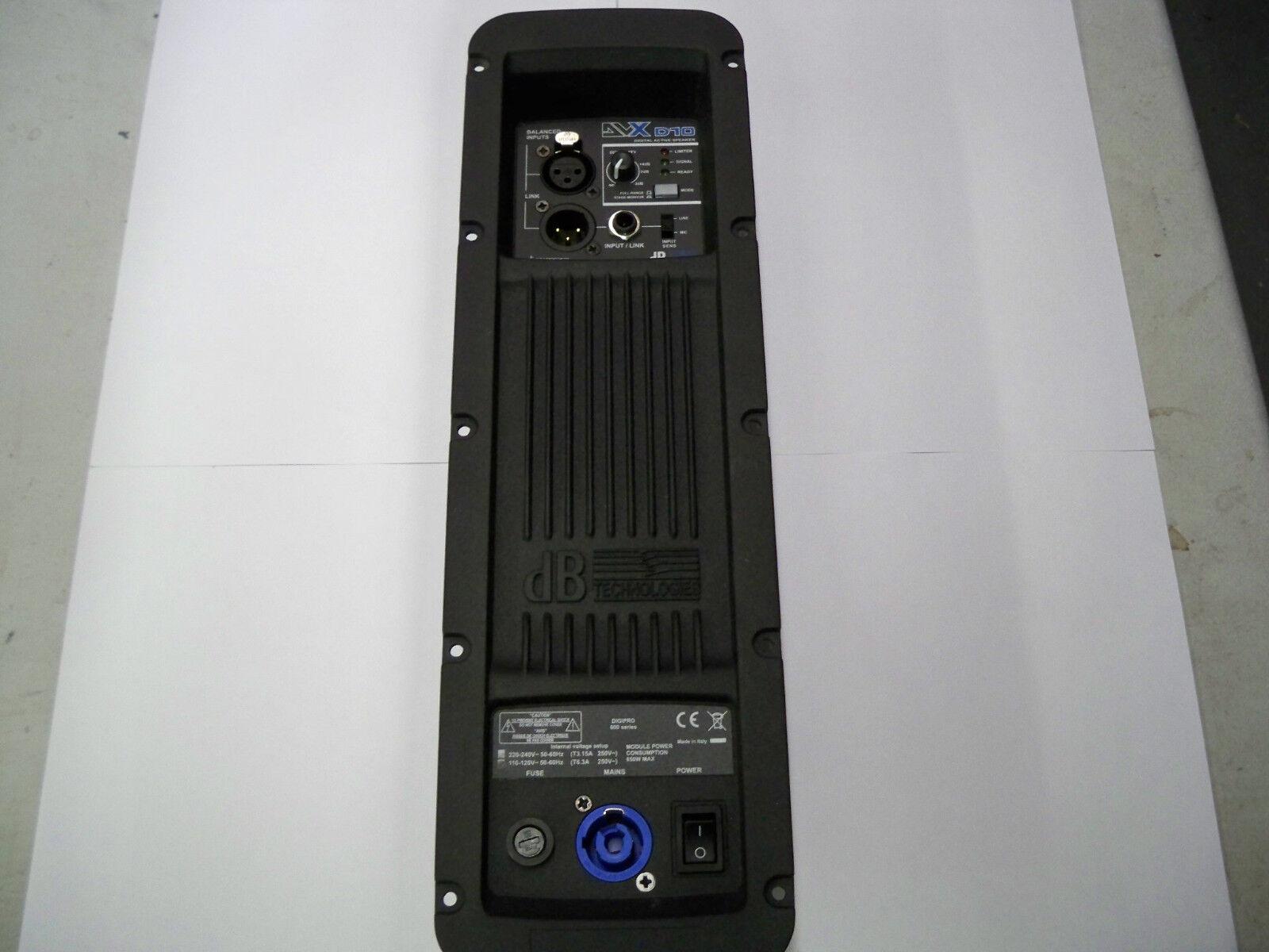 DB Technologies DVX10 600W Verstärker - Brand Neue DB-Technologien-