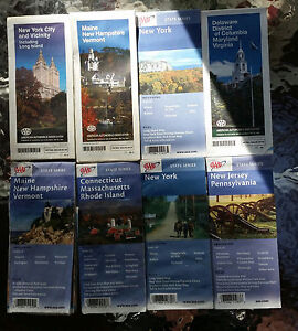 Vintage AAA State Series Road Maps Buy The Lot Of EBay - Vintage road maps for sale