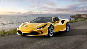 2020-Ferrari-F8-Spider-Auto-Car-Art-Silk-Wall-Poster-Print-24x36-034