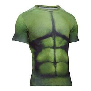 6e3f4db33ae6 Men's Under Armour 1258691 Alter Ego Hulk Compression Shirt NWT Sz ...