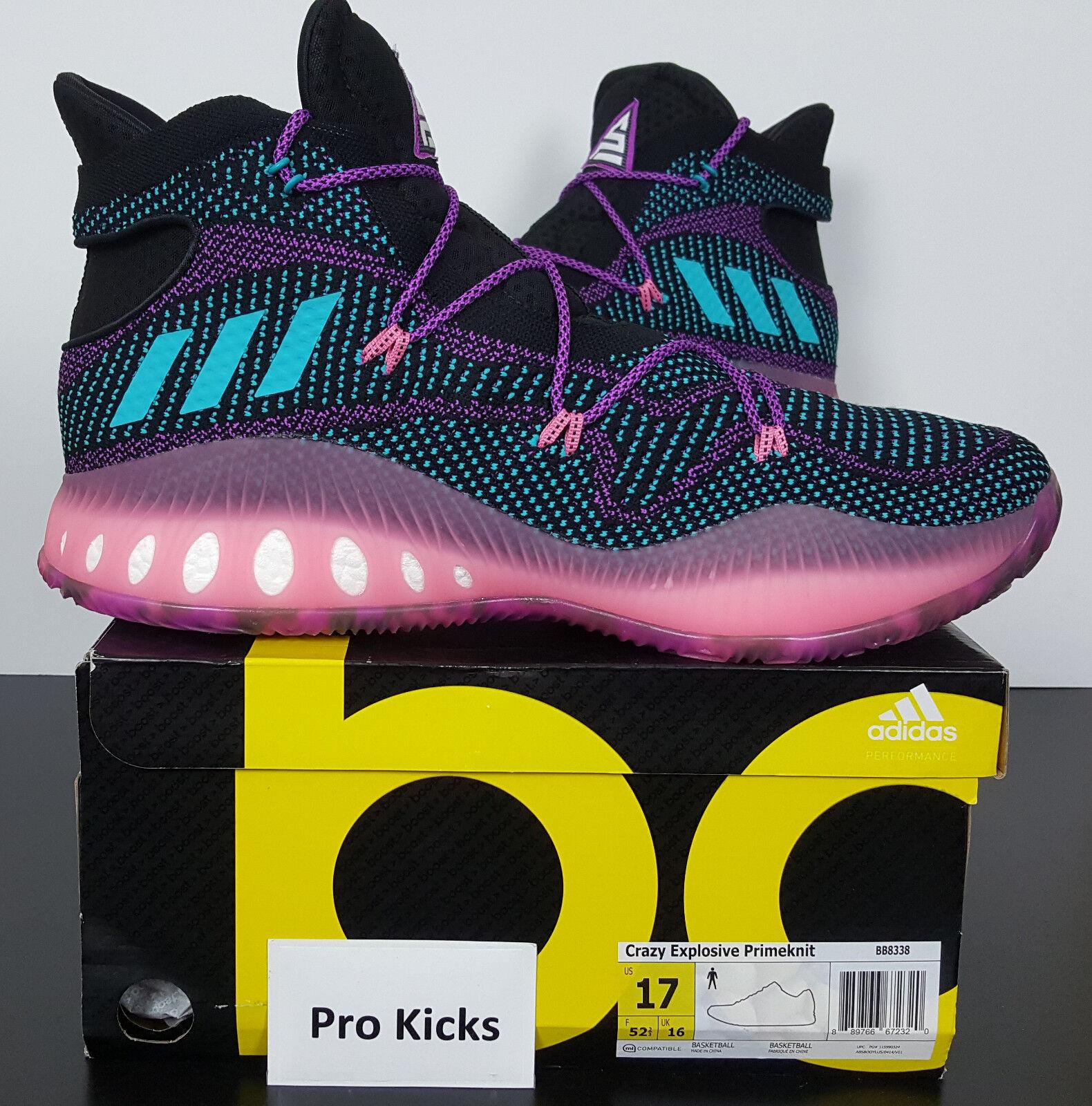 Adidas Crazy explosivo primeknit Nick Young PE Swaggy reducción P le nueva bb8338 reducción Swaggy de precio c57702