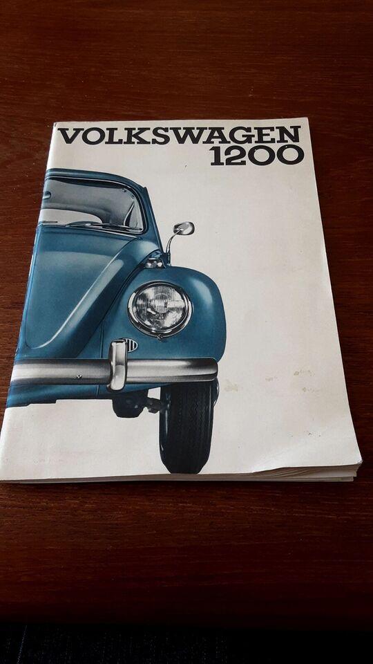 Instruktionsbog, Vw1200