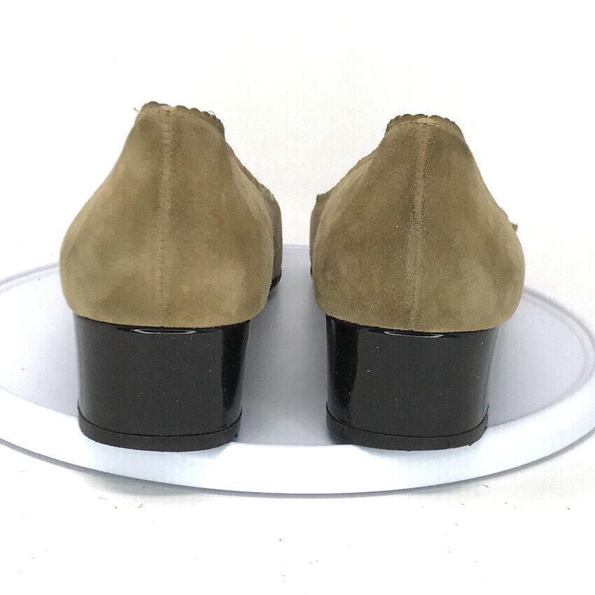 Salvatore Ferragamo Boutique Womens Tan Leather L… - image 4