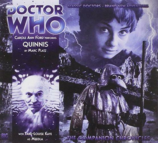 Quinnis (Doctor Who: The Companion Chronicles) by Marc Platt | Audio CD Book | 9