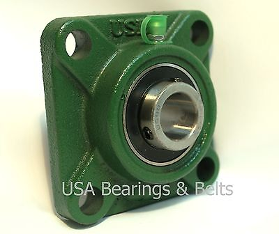"UCF204-12 3//4/"" Square 4 Bolt Flange Block Mounted Bearing Unit Qty. 2"