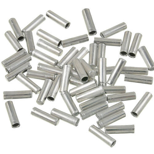 100pcs Bicycle Shifter Brake Gear Inner Cable Tips Ends Caps Crimp Ferrule P*ER