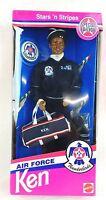 Air Force Ken Black Barbie Doll 11555 Vintage Rare 1993 Mattel 11555