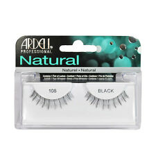 2 Pairs x Ardell Natural Lashes #108 False Eyelashes Fake Lash Eyelash Black