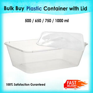 TAKE-AWAY-CONTAINERS-amp-LIDS-DISPOSABLE-PLASTIC-FOOD-CONTAINER-500-650-750-1000ml
