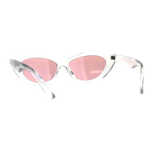 Classy Designer Fashion Sunglasses Womens Oval Cateye Shades