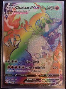 Charizard VMAX Rainbow Rare 074/073 Champions Path Near Mint Pack Fresh