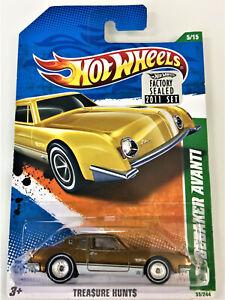 Hot-Wheels-2011-Super-Treasure-Hunt-Studebaker-Avanti-Factory-Seal-Protecto-VHTF