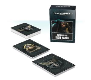 Datacards Iron Hands Warhammer 40k New Games Workshop