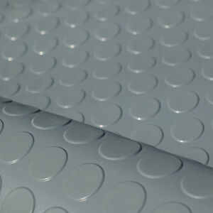 3m Noppenmatte Grau 1 20m X 2 50m 3mm Starke Bodenbelag Gummi