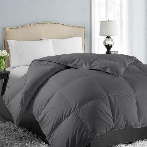 Easeland All Season King Size Soft Quilted Down Alternative Comforter Hotel Coll