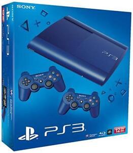 Sony-PlayStation-3-ps3-super-slim-12-gb-nuevo-embalaje-original-amp-incl-2-Controller