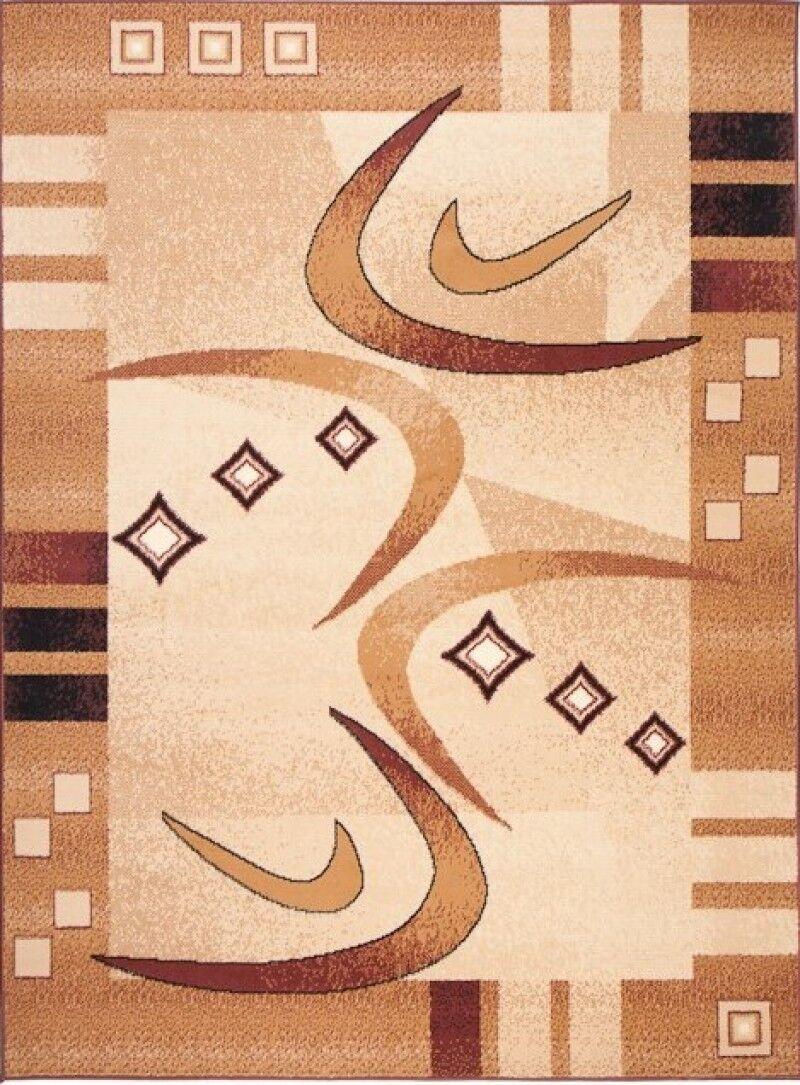 Designer Teppich Modern Rot Kurzflor 80x150 120x170 160x230 200x300 300x400 300x400 300x400 XXL 9a0525