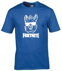 Fortnite Inspired Kids Boys Girls Gamer T-Shirt Gaming Tee Top