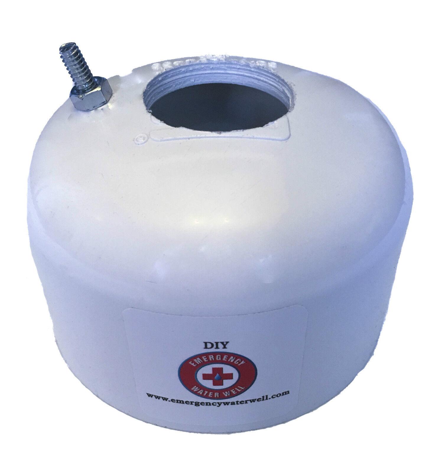 Water Well Cap - 4 Inch