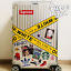 92 inches Off White Luggage Belt Strips Label Vinyl Stickers Waterproof Tapes