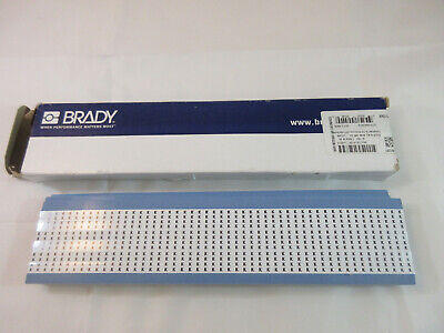 B-702 Solid Numbers Wire Marker Card Brady TWM-38-PK Low-Profile Glossy Vinyl-Coated Polyester 25 Cards Black on White