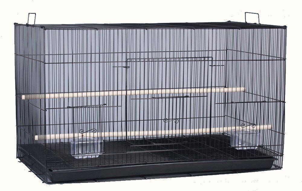 24  NEW Aviary Bird Breeder Breeding Cage 24x16x16H BLK - 360
