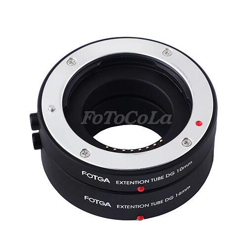 FOTGA automatic AF auto macro extension tube DG set 10mm 16mm f Samsung NX mount
