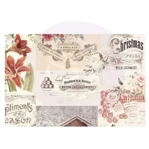 "Prima Christmas Journaling Cards 4X6/"" 15 Designs//3 Each 45 Notizkarten 15x10 cm"
