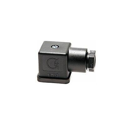 Stecker für Magnetspule, Normstecker für Magnetspulen, Stecker, Magnetventil