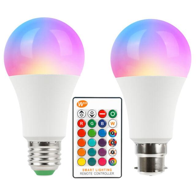 With Control Light Changing Bulb 3w E27 Ir Remote B22 Led 16 Rgb Lamp Colour rdxsQthC