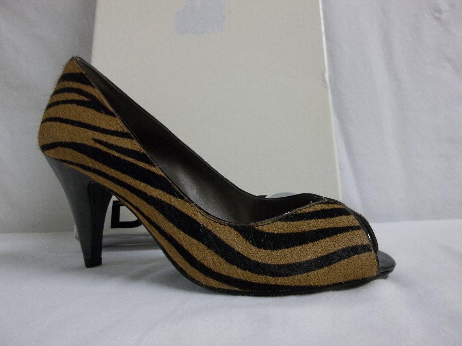 Dknyc Dkny Dkny Dkny Talla 5.5 M Hillary Zebra Peep Toe Tacones nuevo Zapatos para mujer  entrega rápida