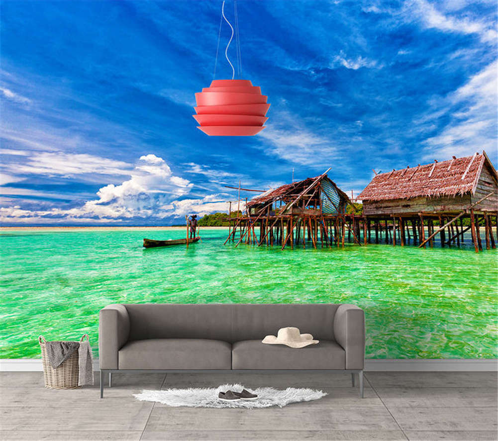 Vibrant Quiet Scene 3D Full Wall Mural Photo Wallpaper Printing Home Kids Decor