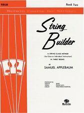 Belwin Course for Strings: String Builder, Bk 2 : Violin Bk. 2 by Samuel Applebaum (1985, Paperback)