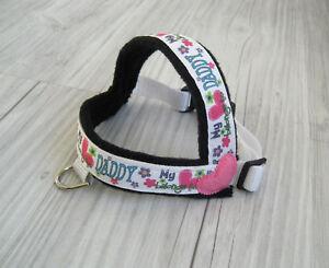 Handarbeit-Umfang-32-41-cm-Hundehalsband-Hundegeschirr-Halsband-Hundebekleidung