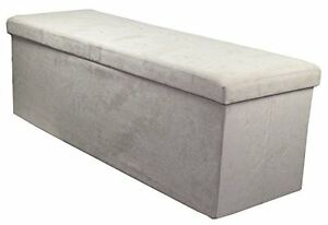 Storage-Bench-Chest-Large-Collapsible-Folding-Bench-Ottoman-w-Cover-Organizer