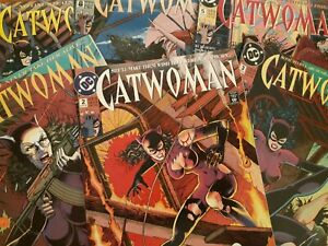 DC-COMICS-CATWOMAN-1993-VARIOUS-ISSUES