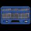 Special-Offer-Mixed-Torx-Star-Spline-Hex-Socket-Bit-Set-3-8-1-2-Drive-With-Case thumbnail 2