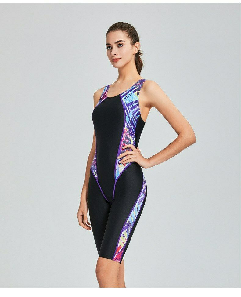 498b5e27c7d Women One Piece Swimsuit Sharkskin Sport Competition Swimwear Racing Suit