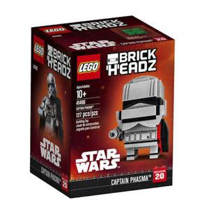 Lego-41486-BrickHeadz-Star-Wars-Captain-Phasma-127-Pieces-New-with-Box