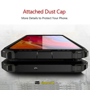 new arrival 922d3 5a29b Hybrid Hard Armor Shockproof Silicone Case Cover For Xiaomi Mi 8 SE ...