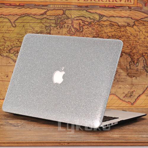 """Rose Quart// Glitter Bling// Wooden Ultra-Slim Case for MacBook Air Pro 11/""""13/"""" 15/"""""""