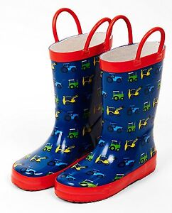 28cf7a0fb Tractor Ted Welly Boots - Children's/Kids Wellies -Tractors/Diggers ...