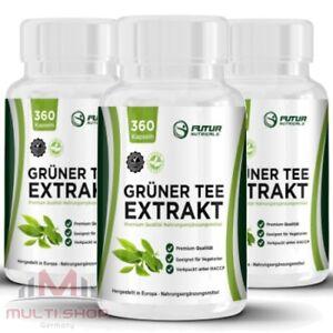 Gruner Tee Extrakt 1080 Kapseln Vegetarier Green Tea Top Diat