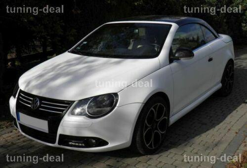 Spoiler passend für VW Eos Frontspoiler Tuning Optik Cabrio Coupe Frontansatz