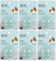 6 Pack Eos Smooth Sphere Evolution Lip Balm Sweet Mint Flavor .25oz on sale