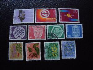 Switzerland-Stamp-Yvert-and-Tellier-N-965-A-975-Obl-A2-Stamp-Switzerland-Z