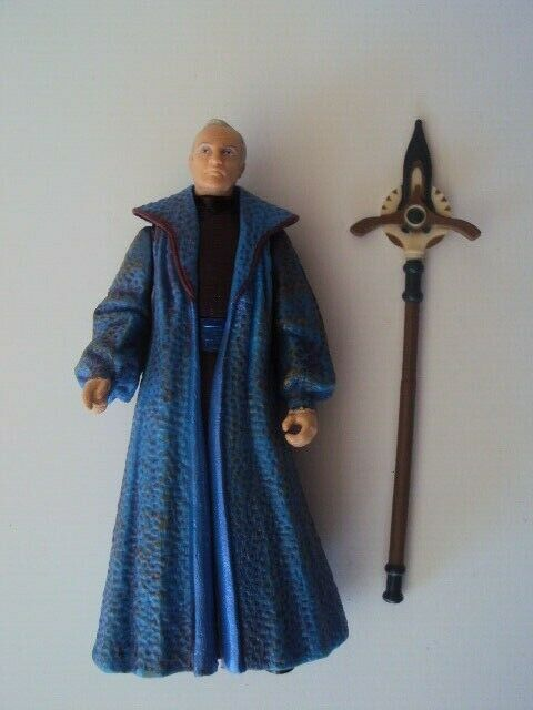 Figurine StarWars : STAR WARS EPISODE 1 - CHANCELLOR / CHANCELLIER VALORUM LOOSE COMPLETE HASBRO